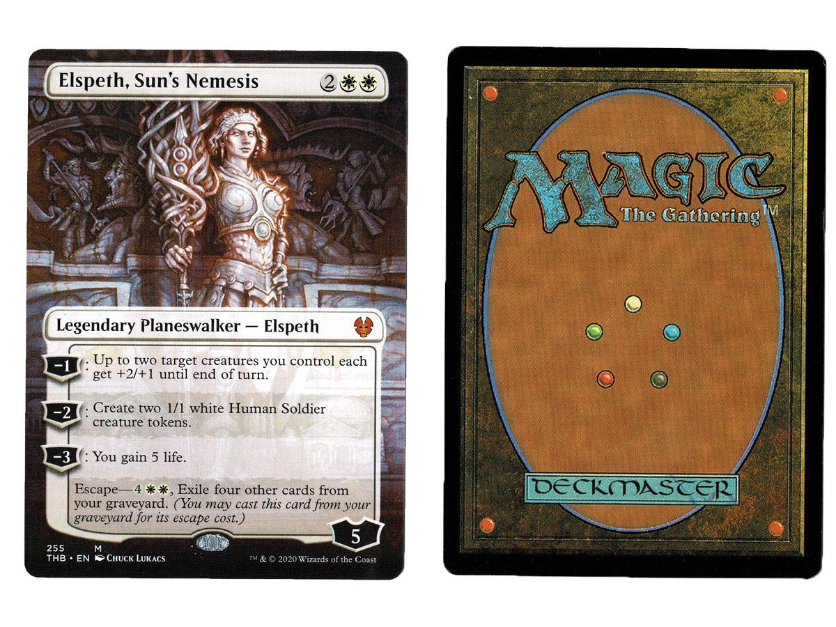 ELSPETH/'S NIGHTMARE X4 Theros Beyond Death THB Magic MTG MINT CARD