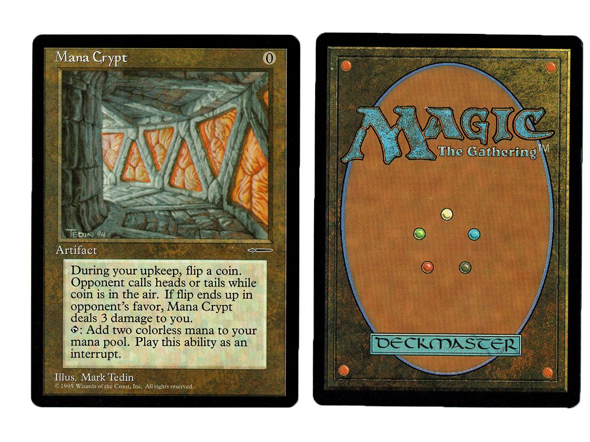 Mana Crypt Media Promo Magic the Gathering MTG Proxy Card