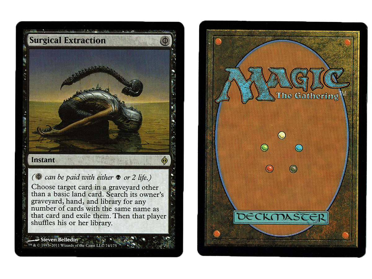 mtg Magic 1x Surgical Extraction