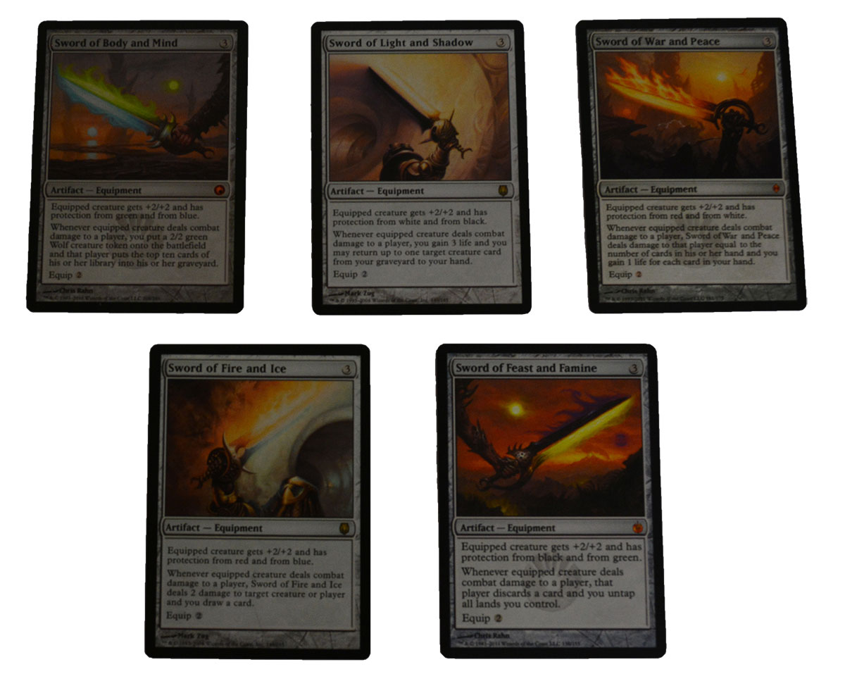 Sword Set Magic the Gathering MTG Proxy Cards